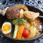 奥芝商店 白石オッケー丸 - まるごと北海道のハンバーグカリーの旅