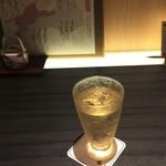 郷土料理かどや - えひめ完熟梅酒(550円)