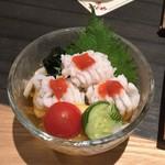 郷土料理かどや 大街道店 - ハモの湯引き(810円)