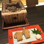 郷土料理かどや - じゃこ天七輪焼き(390円)