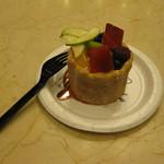LENÔTRE - 確か名前がCharlotte aux Fruits $5.50(?)