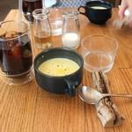 スモーブロー キッチン ナカノシマ - セット:コーヒー、スープ