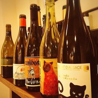 フランス・イタリア・日本を中心とした自然派ワイン