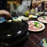 江戸政 - 2016年7月再訪・石鍋の焼き肉!