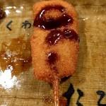 くわ焼 たこ坊 - 豚カツ