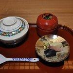 祇園 くらした - 「くらした」 食事・香り物・椀物