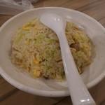 らーめん鱗 西中島店 - ミニ炒飯