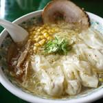ごんや中華麺房 - 料理写真:冷し塩ワンタンメン