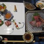 四季館 彩冬 - 前菜・お造り