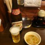 Gyouzasakabaootaya - お約束のビール