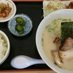 おおがま亭 鳴海店 - ラーメン定食