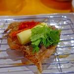 名物トンマキ じゅんご - チーズとパクチーにキムチ!