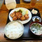 53792125 - 鳥唐揚げ定食(16.07.19)