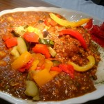 ジャン・カレー - たっぷり3種の豆と鶏挽肉のクミンを効かせたキーマカレーです。