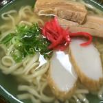 沖縄そば たえ - 料理写真:沖縄そば500円税込