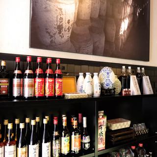 お料理をより美味しく引き立たせる豊富な種類の『紹興酒』