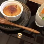 料理 吉祥寺 わるつ - 胡麻豆腐とバーニャカウダ