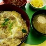 日本交通 - 親子丼定食