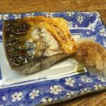 立ち呑 こひなた - 塩鯖焼き200円