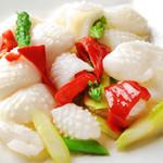 食彩ガーデン - イカと野菜のさっぱり炒め