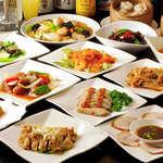 食彩ガーデン - 120分 全100種中華オーダー式食べ放題&プレミアム飲み放題 3,450円(税込)
