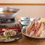 磯平 - 料理写真:カニ鍋コース