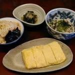 盛八 - 料理写真:出汁巻き定食