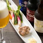 エロうま野菜と肉バル カンビーフ - ワインだけでなく、ビールも厳選のCOEDOビールをご用意☆海外でも評価されています♪