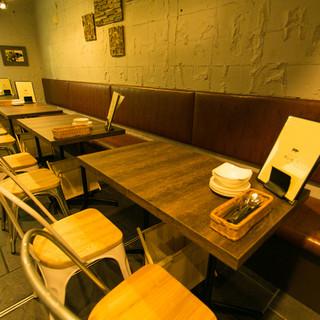 テーブル席(2名〜最大16名様)☆使い方いろいろ☆コンパ・打ち上げなど幅広くOK