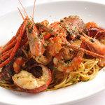 イタリアーナ エノテカ ドォーロ - 料理写真:海老好きの人だけの為に作ったスパゲティーニ
