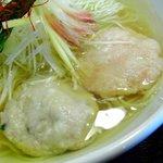 麺屋海神 - 料理写真:つくね
