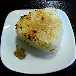 麺屋海神 - 料理写真:へしこのおにぎり(単品150円)