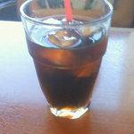 アンナミラーズ - アイスコーヒー(セットで420円)