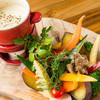 彩り蒸し野菜のバーニャカウダ