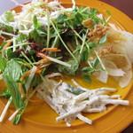 グランファームビュッフェ モリモリ - 野菜類。