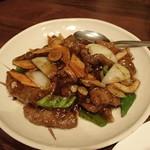 萬華 - 牛肉の黒胡椒炒め