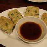 萬華 - 海鮮と玉子チヂミ