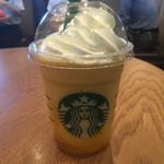 スターバックスコーヒー - ドリンク写真:クラッシュオレンジフランペチーノ658円税込