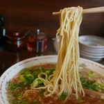 なるかみ - ラーメン麺リフト