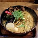 ガラク - 野菜15品目大地の恵み山の恵スープ