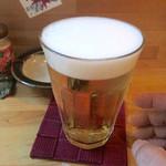 ニュー呑呑 - 生ビール(400円)
