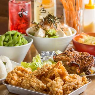 激うまチキンの宴会コースは3000円~!各種宴会に!