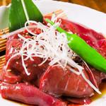 白肉屋 - 料理写真:新鮮!焼レバー