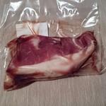 谷口精肉店 - イノシシモモ肉ブロック(解凍後)