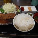牛かつ もと村 - 牛かつ定食(130g)1300円