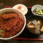 53811780 - ヒレ肉のソースカツ丼【料理】