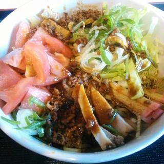 麺むつみ - 料理写真:まぜそば味噌味800円