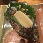 姫すし - 岩牡蠣ポン酢