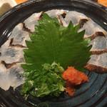姫すし - 鱧の焼き霜造り(美味しい!)