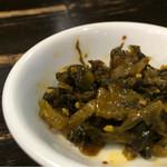 神虎 - 食べ放題の高菜は美味い!